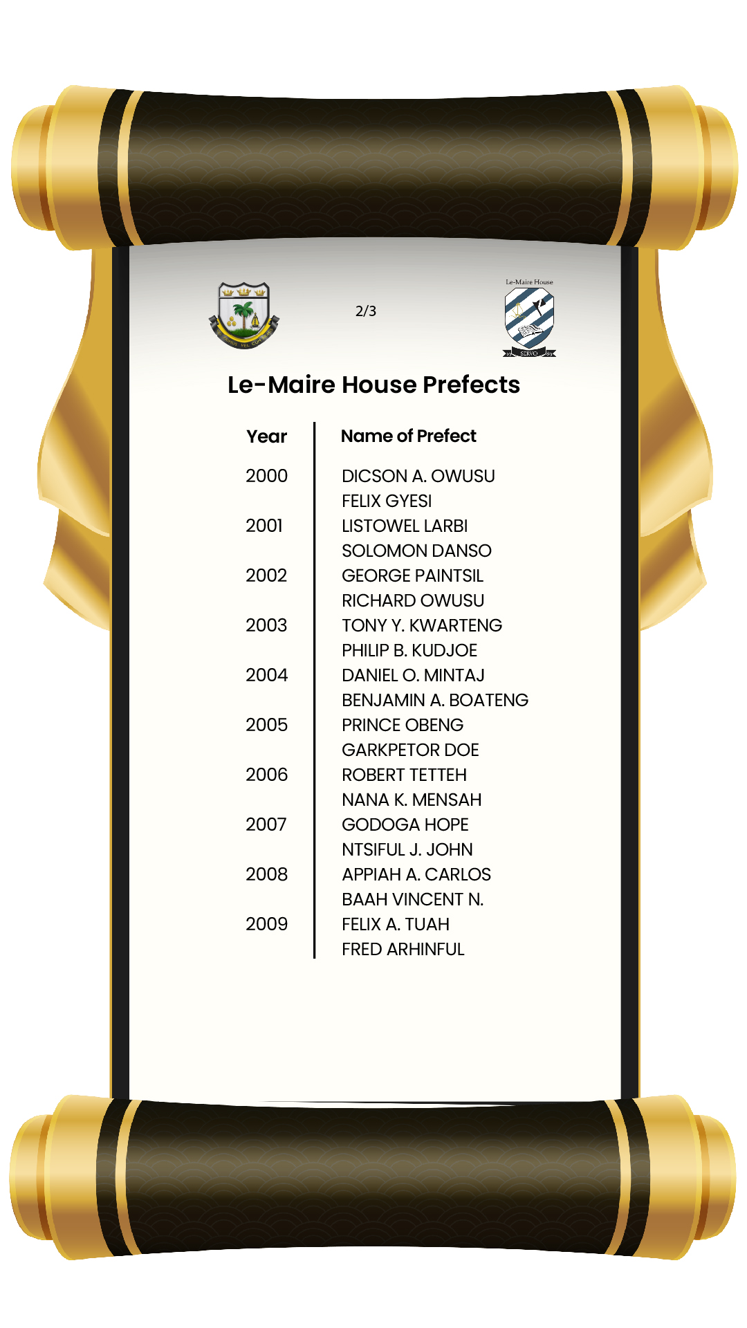 House Prefects-14