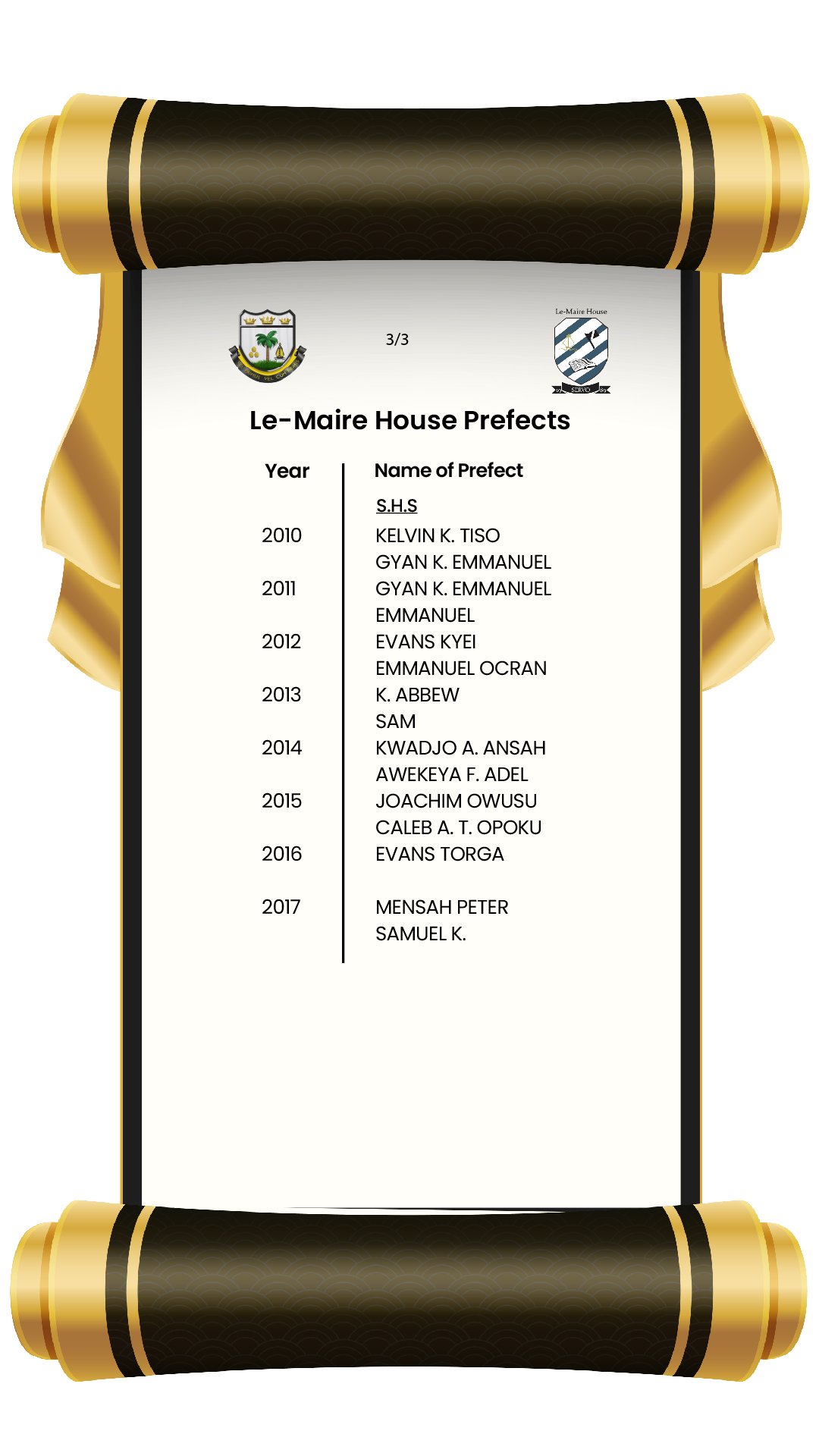 House Prefects-15